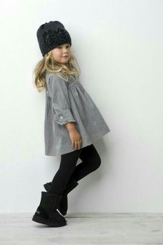 Fashion Kids, Toddler Fashion, Look Fashion, Fall Fashion, Little Girl Outfits, Cute Outfits For Kids, Little Girl Fashion, Outfits Niños, Fall Outfits