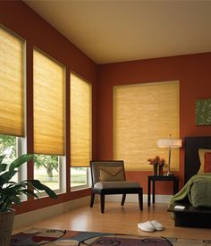 Motorized Cell Shades | Electric Cellular Shades