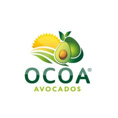 design a modern, organic, appealing logo for an avocado company by mibg