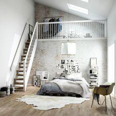 interior, bedroom, home decor, decorating ideas, modern luxury, industrial