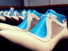 Haifa en produccion. Hormas de zapatos