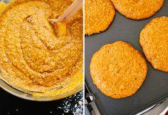 Pumpkin oat pancake batter