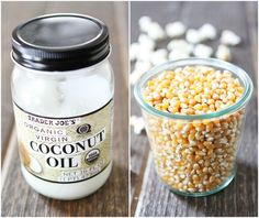 a Whirley Pop Popcorn Popper or in a large pot with a lid, heat the coconut oil over medium-high heat. Add the popcorn kernels. When the coc...