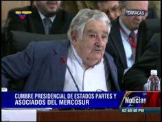 """José Pepe Mujica este 29 de julio en la Cumbre de Mercosur en Caracas """"Nunca ha sido América Latina más libre, más libre en las entendederas (acuerdos), porque cada cual tiene su independencia. Ni tenemos que adorar al tío Sam (Estados Unidos), ni tenemos que enfrascarnos por ninguna causa religiosa"""" - """"El tío Sam está enfermo, lo está matando el egoísmo"""" - """"Necesitamos este Mercosur como el pan, necesitamos grandes universidades, programas comunes"""""""