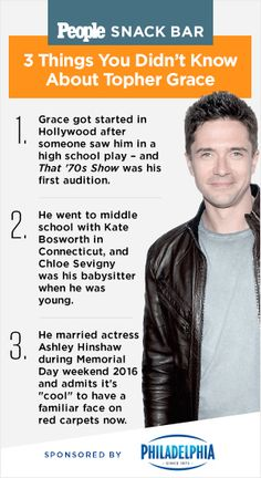 25 Best Topher Grace Images In 2017 Grace Omalley Attractive
