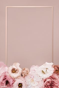 Beautiful pink floral rectangle frame premium image by eyeeyeview 838091811889314305 Gold Wallpaper Background, Rose Gold Wallpaper, Phone Wallpaper Images, Flower Phone Wallpaper, Framed Wallpaper, Pink Wallpaper Iphone, Flowers Background Iphone, Pink Floral Background, Photo Wallpaper