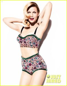 Brooklyn Decker glams it up for a feature in Vanity Fairs June 2012 issue