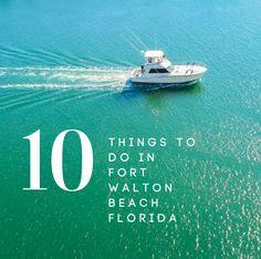10 Fun Things To Do in Fort Walton Beach, Florida Florida Vacation, Florida Beaches, Sandy Beaches, Fort Walton Beach Florida, Florida Georgia, Niceville Florida, Travel List, Beach Trip, Fun Things