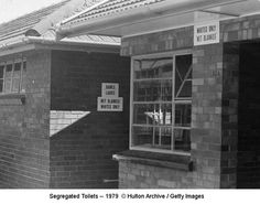 Segregated Toilets 1979Apartheid Signs Image Gallery