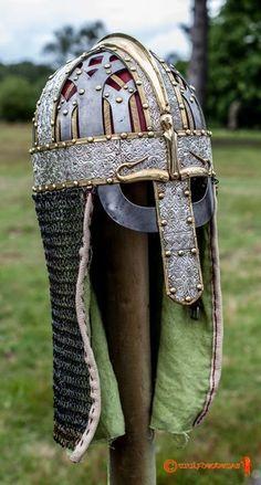 Valsgarde 6 Helm. Photograph courtesy of A.J.Pilkington.