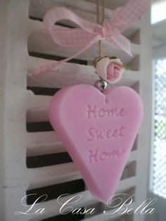Home Sweet Home soap by La Casa Bella