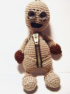Tim Burton and Shane Ackers 9 movie - Nine Crochet Doll