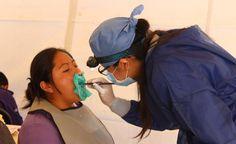 Van 46 Jornadas de Salud Bucal en Cuautlancingo