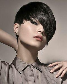 Modern Short Hairstyles Funky