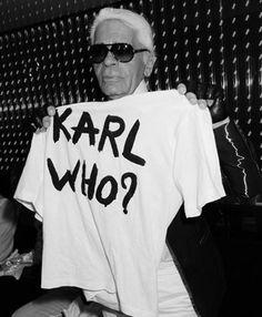 we all love karl!