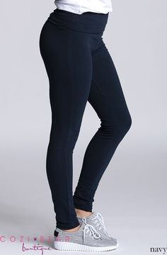 Our new yoga leggings are so comfortable and perfect whether you're lounging around, working out or running errands.