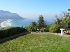 Self catering accommodation, Fish Hoek , Cape Town Fresh green garden! Green Garden, Fresh Green, Cape Town, Apartments, Catering, Golf Courses, Rest, Sky, Beach
