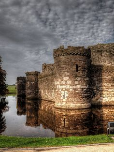 Beaumaris Castle Anglesey, North Wales