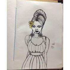 215/365 #doodle #sketchbook #sketch #365 #drawing #dibujo #desenho