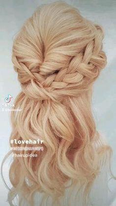 Civil Ceremony, Love Hair, Image Shows, Fashion Company, On Your Wedding Day, Elegant Wedding, Bridal, Hair Styles, Simple