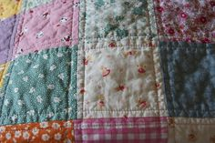 Simple but effective quilting
