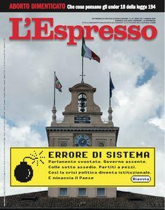 La copertina dell'Espresso in edicola da domenica 6 maggio