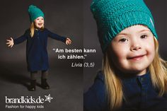 Kids with Down Syndrom act as fashion models for STYLEBOOK.de