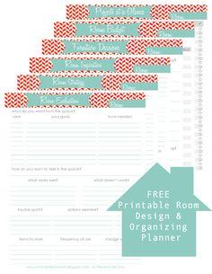 Room Design Planner decorology: free, printable room planner from the nest