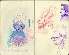 Yoskay Yamamoto - Sketchbook