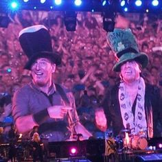 Bruce and Stevie!