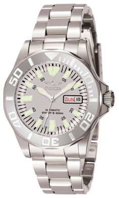 Invicta 7048 Men's Watch Automatic Gray Dial Stainless Steel Band