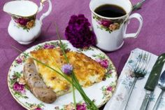 Gourmet breakfasts delivered to your door at Sandlake Country Inn