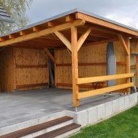 Fotos Aufbau Anleitung Carport Zum Selber Bauen Hausbau Blog Uberdachung Terrasse Terrassenuberdachung Terrassen Gartenlaube