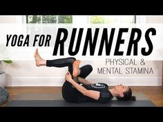 Yoga With Adriene - Yoga For Runners: Physical And Mental Stamina. A thorough, yoga for runners practice to support you in both Mind and . Yoga Nature, Zen Yoga, Yoga Meditation, Free Yoga Videos, Yoga For Runners, Yoga With Adriene, Yoga For All, Online Yoga Classes, Improve Mental Health