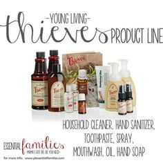 Young Living Essential Oils, thieves products, natural cleaning supplies. www.ylessentialoils.com