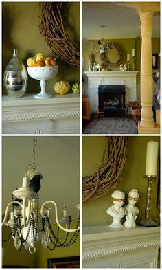 Lorajean's Magazine,: Halloween decorations