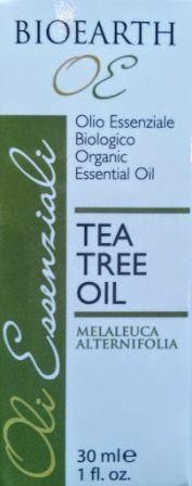 Oli essenziali :: Tea tree oil - Olio essenziale BIO - 30 ml - Bioearth - Erboristeria Sauro - vendita online erbe officinali e preparati fitoterapici.Rimedi salutistici - Laboratorio d'Erbe Sauro - promozioni - sconti