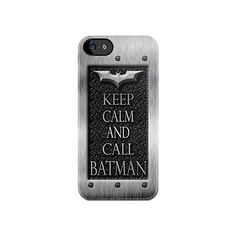 Keep Calm And Call Batman at Chrome flat iPhone 4 4s or iPhone 5 case.  Price 22.89$, free shipping.