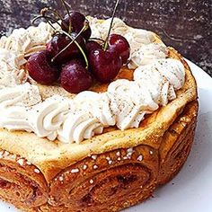 korvapuustijuustokakku Frozen Cheesecake, Childrens Meals, Christmas Cooking, Molecular Gastronomy, Confectionery, Cheesecakes, Finger Foods, Cake Decorating, Bakery