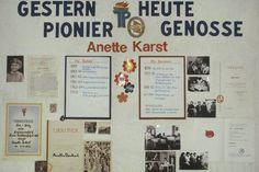 """Wandzeitung """"Gestern Pionier – Heute Genosse"""" (Quelle: Gerald Syring)"""