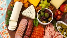 Antipasto Platter - Recipes - Best Recipes Ever - Scout farmer's markets for tasty offerings from local cheesemongers and butchers selling house-made salami, prosciutto, pepperoni and other dry sausages. Then add your own marinated olives for an easy dockside hors d'oeuvre platter.