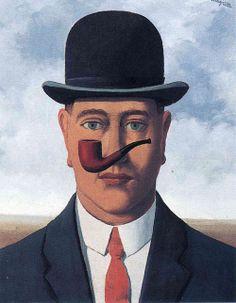 Le bon foi by Magritte
