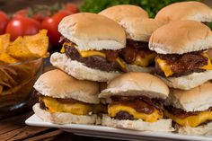 Fire up your grill and make these classic cherry cola sliders for your next backyard cookout with friends and family!