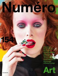 #NumeroFrance 154 #KarenElson art direction by #SarahMorris photo by #VictorDemarchelier