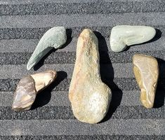 Several variations of a Early Paleo tool. Native American Tools, Native American Artifacts, Native American Indians, Indian Artifacts, Ancient Artifacts, Old Stone, Stone Art, Prehistoric Period, Stone Age Tools