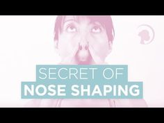 - 4 Ways to Make Your Nose Look Smaller Makeup (Contouring) tutorial to make your nose appear smaller from the side, Face Yoga for a shorter nose and a new non-surgical way for a thinner nose Face Yoga Method, Thin Nose, Nose Reshaping, Face Yoga Exercises, Perfect Nose, Contour Makeup, Face Makeup, Rosy Lips, Nose Shapes