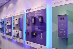 Our display boards feature the most prominent door entry and access control ranges. Including the IP-based kits by Comelit, access control keypads by SRS, well-known audio and #videoentry range by Bell System and many more. Read more about our new showroom on our blog!