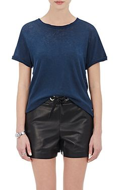 "We Adore: The ""The Rolled Sleeve Crew"" T-Shirt from Current/Elliott at Barneys New York"