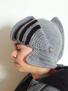 Crochet : Gorro Medieval.  Protector de Cara.  Parte 2 de 2