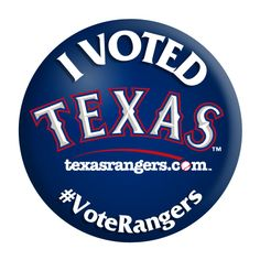 #VoteRangers  Mitch Moreland for 1st base  Ian Kinsler for second base  Elvis Andrus for short  Adrian Beltre for third   Josh Hamilton, David Murphy and Nelson Cruz for outfield  Michael Young for DH   #TEXASRANGERS